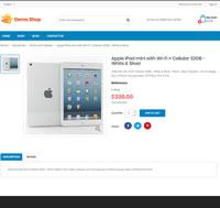 Demo Shop - Apple ipod mini product detail page screenshot